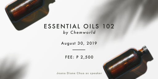 Essential Oils 102 - Make Your Own Diffuser Oil & Lotion (Aug 30)