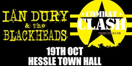 Tribute to The Clash & Ian Dury @ Hessle Town Hall tickets