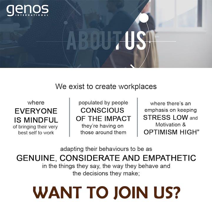 Genos Emotional Intelligence Practitioner Certification