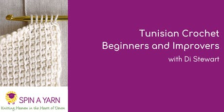 Tunisian Crochet - Beginners and Improvers with Di Stewart tickets