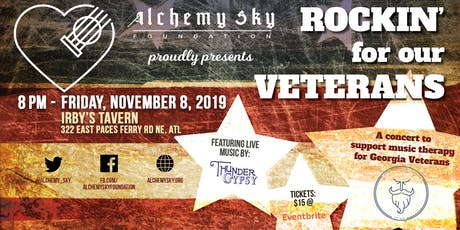 Alchemy Sky's 4th Annual Rockin' For Our Veterans tickets
