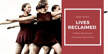 Book Launch: Lives Reclaimed tickets