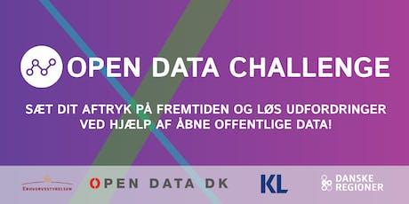 Open Data Challenge 2019: Kick-off tickets