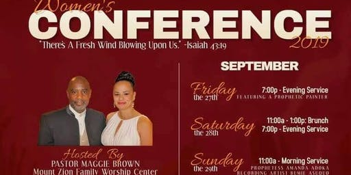 """There's A Fresh Wind Blowing Upon Us"" Women's Conference"