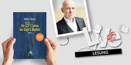 LESUNG: Dietmar Wunder liest aus 13 1/2 Leben des Käpt'n Blaubär Tickets