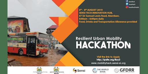 The Resilient Urban Mobility Hackathon