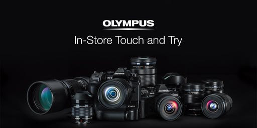 Olympus Touch & Try Event - Free Firmware upgrades