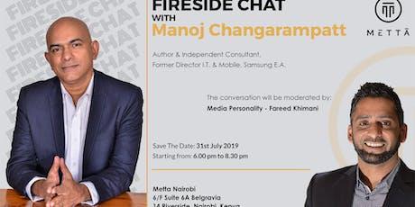 Fireside Chat with Manoj Changarampatt tickets