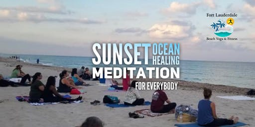 Sunset Guided Meditation by the Sea: for Everyone $10 @ door