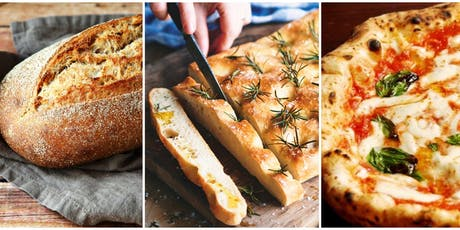 Bread, Pizza and Focaccia cooking class with Chef Gabriele Bagni tickets