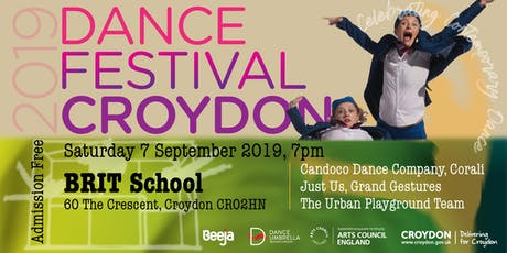 Dance Festival Croydon 2019 - Performances - BRIT School tickets
