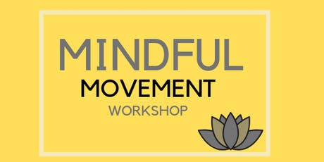 Mindful Movement Workshop tickets
