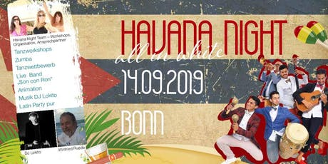 HAVANA NIGHT all in white Tickets