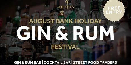 Gin & Rum Festival | FREE ENTRY tickets