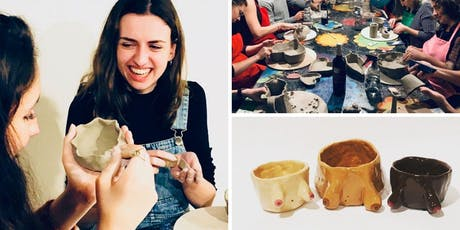 Make Your Own Handmade Pottery - Pinch Pots! 3 Part Session tickets