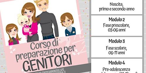 Corso di preparazione per Genitori (MODULO 2)