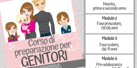 Corso di preparazione per Genitori (MODULO 3) biglietti