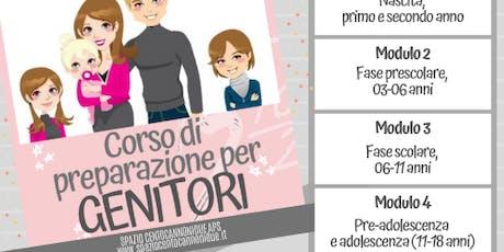 Corso di preparazione per Genitori (MODULO 4) biglietti