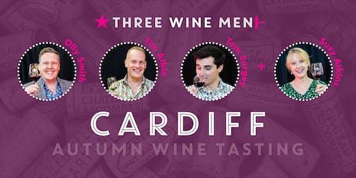 Three Wine Men Cardiff Autumn Wine Tasting