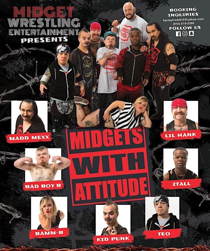 Midgets With Attitude Wrestling image