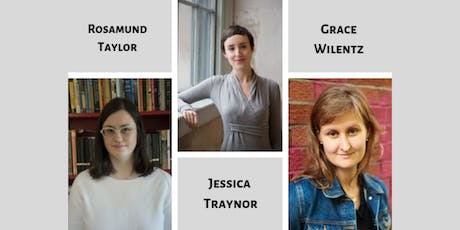 Poetry evening with Rosamund Taylor, Jessica Traynor and Grace Wilentz tickets
