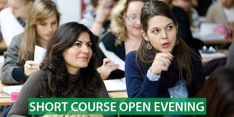 CNM London - Short Course Open Evening tickets