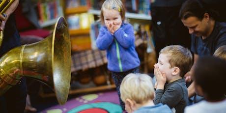 EFG London Jazz Festival Presents: Jazz For Toddlers tickets