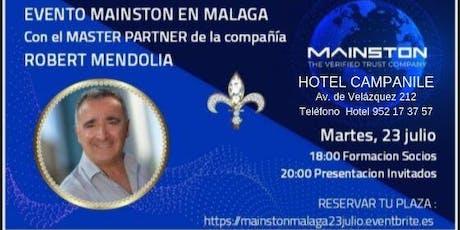 MAINTON Formación Socios y Presentación Invitados entradas