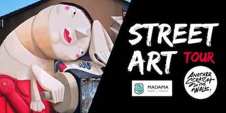 Street Art Tour – Madama Hostel & Bistrot tickets