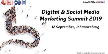 Digital & Social Media Marketing Summit 2019 - Johannesburg tickets