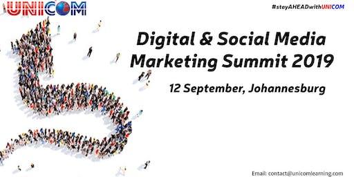 Digital & Social Media Marketing Summit 2019 - Johannesburg