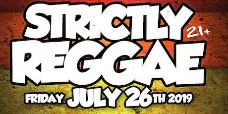 Strictly Reggae tickets