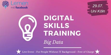 Digital Skills Training - Big Data Tickets