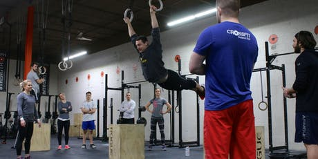 Gymnastics Clinic @ CrossFit Firewall (9:00 or 11:00 session) tickets