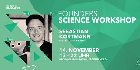 Founders Science Workshop Tickets