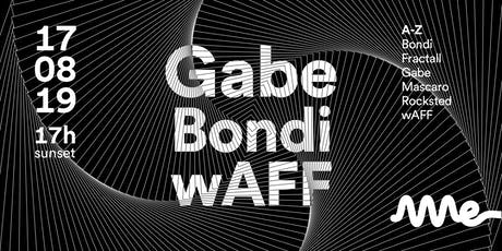 AME CLUB apresenta GABE, wAFF e BONDI ingressos