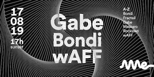 AME CLUB apresenta GABE, wAFF e BONDI