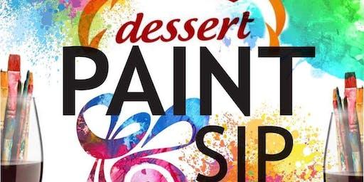 Dessert Paint & Sip