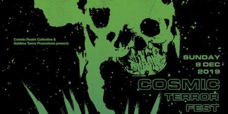 Cosmic Terror Fest tickets
