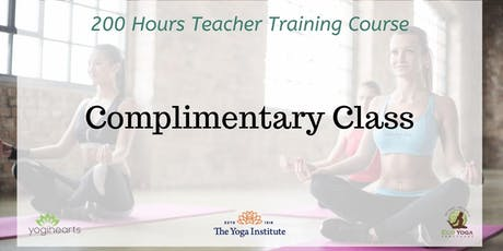 Complimentary Yoga Session tickets