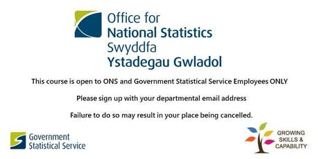 """Intro to ONS Data Service - (LND)- part of """"Love learning week"""" tickets"""