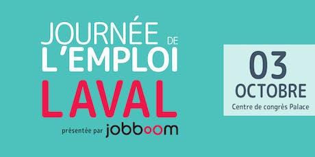JOURNÉE DE L'EMPLOI LAVAL - Automne 2019 billets