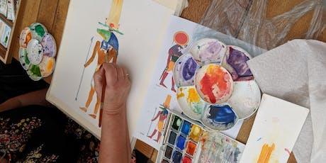 Beginners Watercolour Class tickets