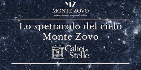 Lo spettacolo del cielo a Monte Zovo biglietti