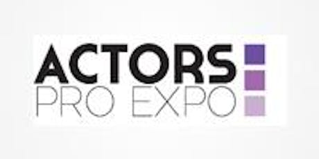 Actors Pro Expo LA 2019 tickets