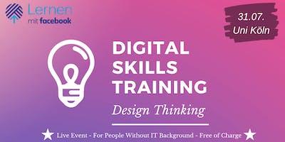 Digital Skills Training  - Innovation by Design Thinking