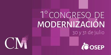 I Congreso de Modernización de OSEP entradas