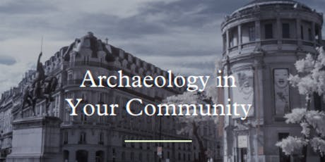 StoryPoint Fort Wayne Presents: Archaeology in Your Community!  tickets