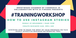Training Workshop: How to use Instagram Stories