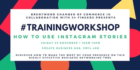 Training Workshop: How to use Instagram Stories  tickets